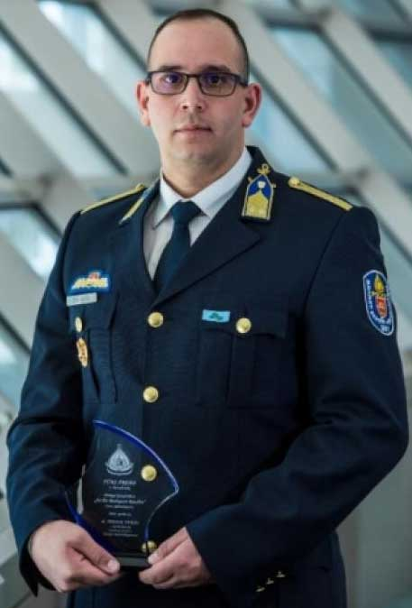 Erzsébetvárosi alezredes lett az év budapesti rendőre!